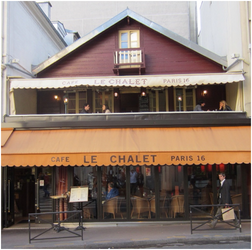 Cafe le Chalet | Paris Attitude