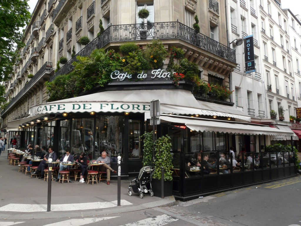 Cafe de Flore - Paris Attitude