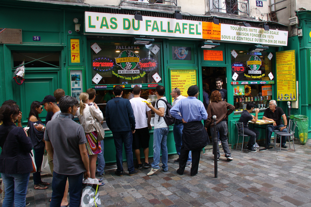 As du Fallafel - Paris Attitude