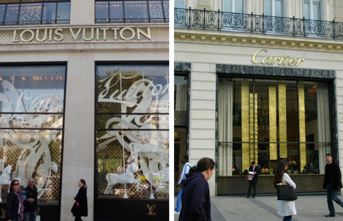 Shopping Champs Elysees - Paris Attitude