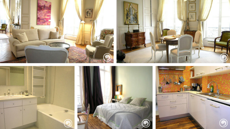 Apartment Rental Saint Germain des Pres Paris