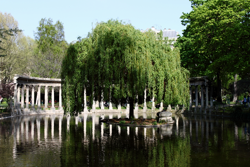 Parc Monceau located in the 8th arrondissement